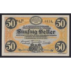 50 heller/fillér 1916 - Zalaegerszeg