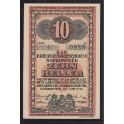10 heller/fillér 1916 - Sopronnyék