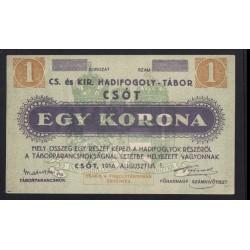 1 krone/korona 1916 - Csót