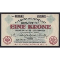 1 krone/korona 1916 - Kenyérmezõ