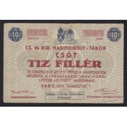 10 heller/fillér 1916 - Csót