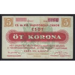 5 kronen/korona 1916 - Csót