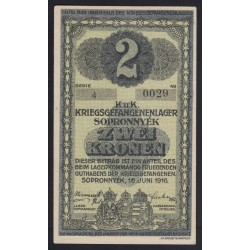2 kronen/korona 1916 - Sopronnyék
