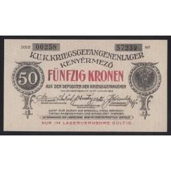 50 kronen/korona 1916 - Kenyérmezõ