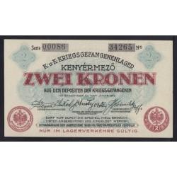 2 kronen/korona 1916 - Kenyérmezõ