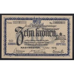 10 kronen/korona 1916 - Nagymegyer