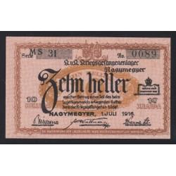 10 heller/fillér 1916 - Nagymegyer
