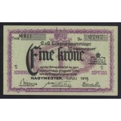 1 krone/korona 1916 - Nagymegyer