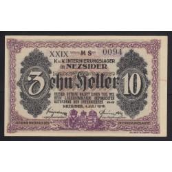 10 heller/fillér 1916 - Nezsider