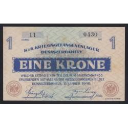 1 krone/korona 1916 - Dunaszerdahely