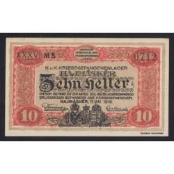 10 heller/fillér 1916 - Hajmáskér