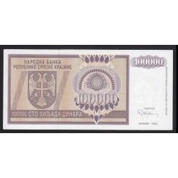 100.000 dinara 1993