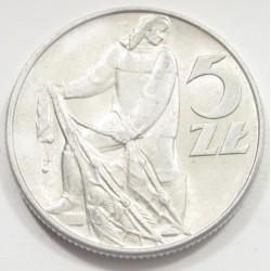 5 zlotych 1974