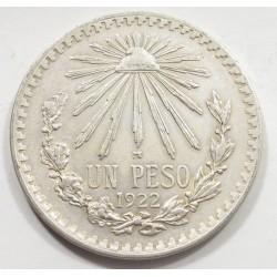 1 peso 1922