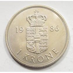1 krone 1986