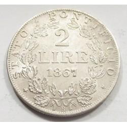 2 lire 1867