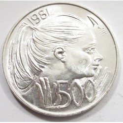 500 lire 1981