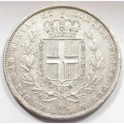 5 lire 1836 - Kingdom of Sardinia