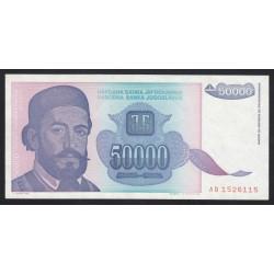 50000 dinara 1993
