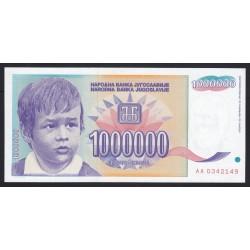 1.000.000 dinara 1993