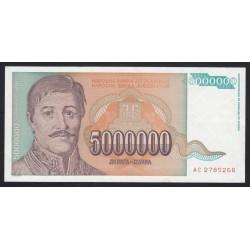 5.000.000 dianra 1993