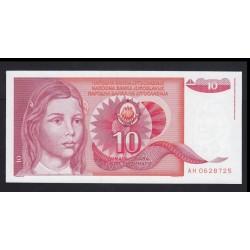 10 dinara 1990