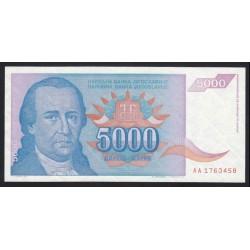 5000 dinara 1994