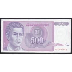 500 dinara 1992