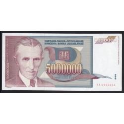 5.000.000 dinara 1993