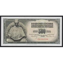 500 dinara 1970
