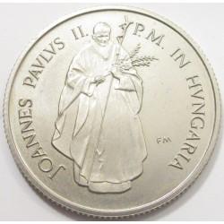 100 forint 1991 - Pope visit