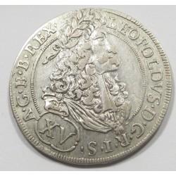 Leopold I. XV kreuzer 1691 - Hall