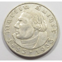 2 reichsmark 1933 A - Luther