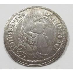 Johann Friedrich 1/6 thaler 1678