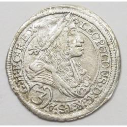 Leopold I. 3 kreuzer 1697 IA - Graz