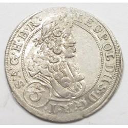 Leopold I. 3 kreuzer 1700 - Brieg