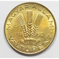 20 fillér 1950 - official restrike