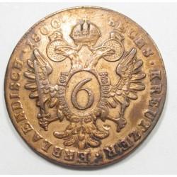 Franz II. 6 krajcár 1800 B