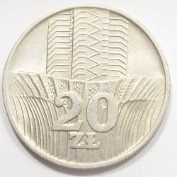 20 zlotych 1974