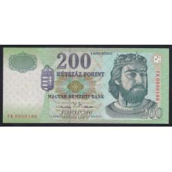 200 forint 2001 FB - LOW SERIAL