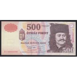 500 forint 1998 EC - LOW SERIAL