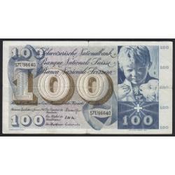 100 franken 1967