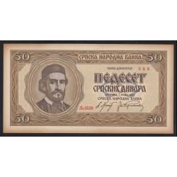 50 dinara 1942