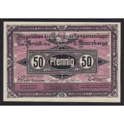 50 pfennig 1917 - Kriegsgefangenenlager Frankfurt oder
