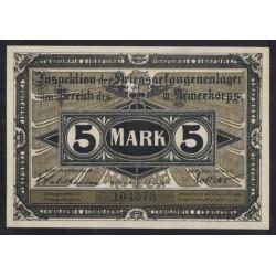 5 mark 1917 - Kriegsgefangenenlager Brandenburg Havel