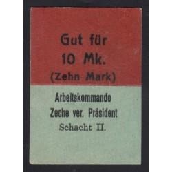 10 mark 1916 - Arbeitskommando Schaht II.