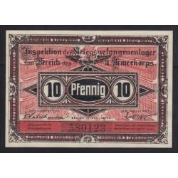 10 pfennig 1917 - Kriegsgefangenenlager Beeskow