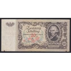 20 schilling 1950
