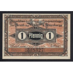 1 pfennig 1917 - Kriegsgefangenenlager Guben