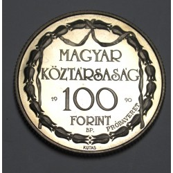 100 forint 1990 PP - Theatricals TRIAL STRIKE